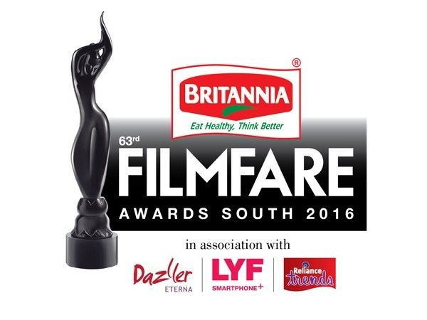filmfare awards 2016 south