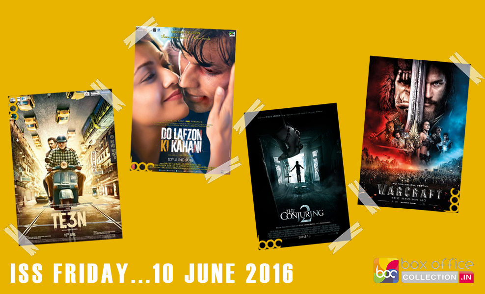 Movies Releasing on 10 June 2016