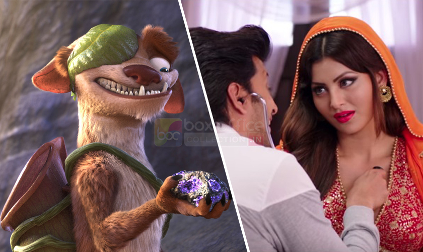 Masti 3 & Ice Age 5 Box Office Collection
