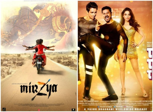 mirzya 3rd day collection, mirzya third day collection, mirzya 3 days total collection, mirzya box office collection, mirzya total collection, tutak tutak tutiya 3rd day collection, tutak tutak tutiya third day collection, tutak tutak tutiya 3 days total collection