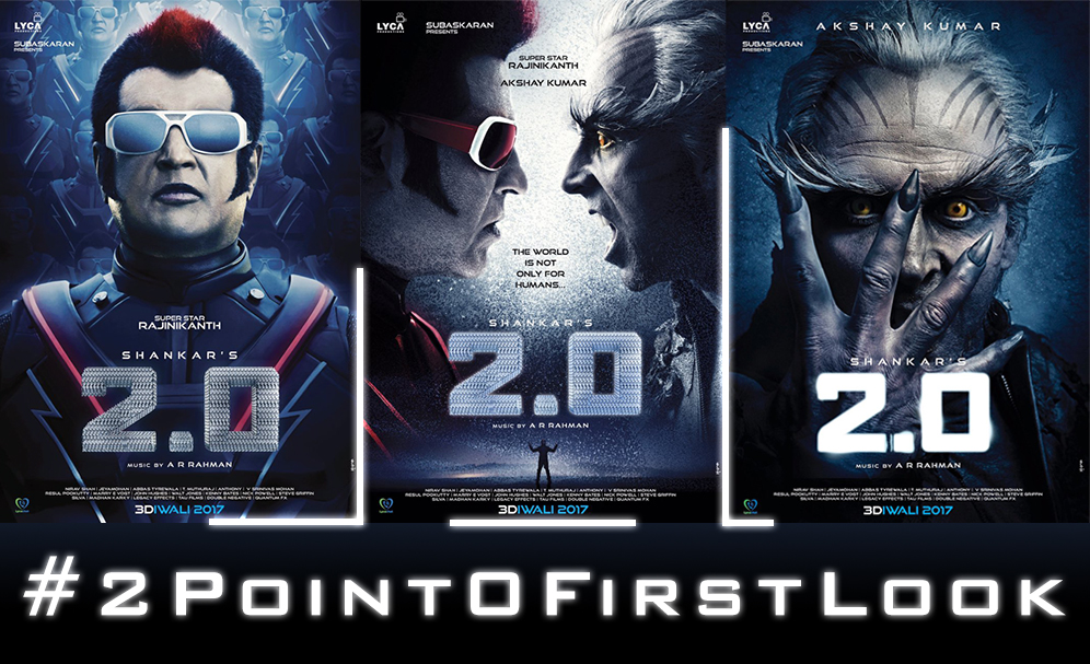 2.0 first look, 2.0 official poster, 2.0 akshay kumar poster, 2.0 rajinikanth poster, 2.0 movie poster, 2.0 release date, 2.0 diwali 2017, 2.0 starcast, 2.0 actress, 2.0 amy jackson