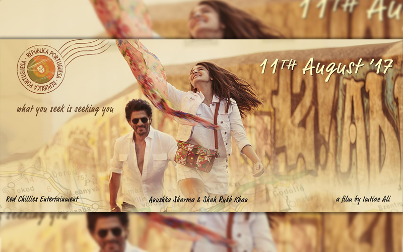 shahrukh and anushka next, srk anushka next, imtiaz ali upcoming movie, first look of srk anushka next, srk anushka on 11 aug 2017, srk anushka new film title