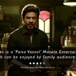 Raees Movie Review, A 'Paisa Vasool' Masala Entertainer [3.5/5 Stars]