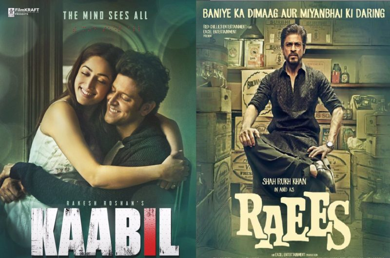 Raees & Kaabil 19th Day Total Collection