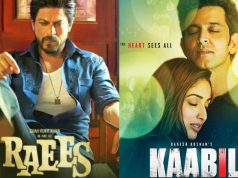 25 Days Total Collection of Kaabil & Raees