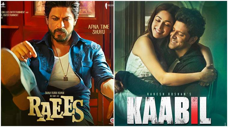 16th Day Total Collection Raees & Kaabil