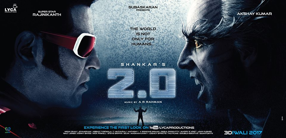 Rajinikanth & Akshay Kumar's 2.0 Satellite Rights
