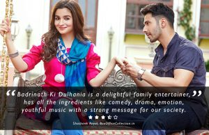 badrinath ki dulhania review, badrinath ki dulhania movie review, badrinath ki dulhania critic review, badrinath ki dulhania 2017 review, badrinath ki dulhania star rating, badrinath ki dulhania hit, badrinath ki dulhania actors performance