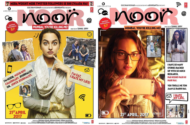 First Look Posters of Noor