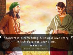 Phillauri Review & Rating by Shashank Rayal