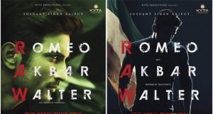 First Look Poster of Romeo Akbar Walter