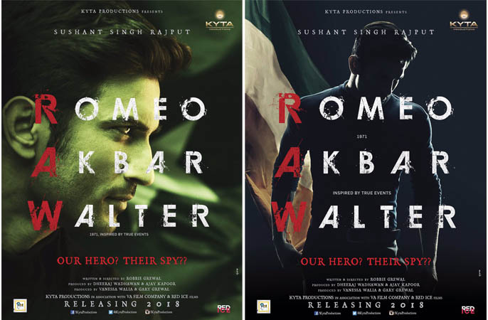 First Look Poster of Romeo Akbar Walter