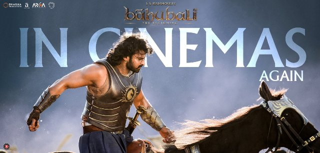 Baahubali in cinemas again, 1st day collection