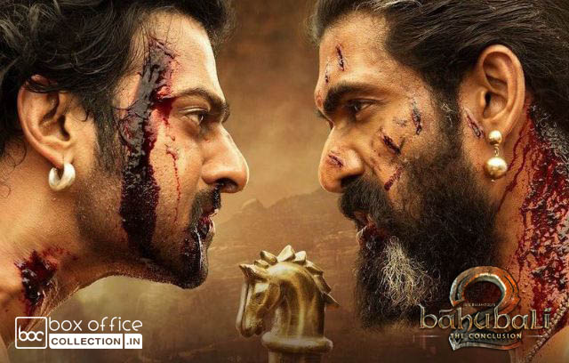 First Day Collection of Baahubali 2