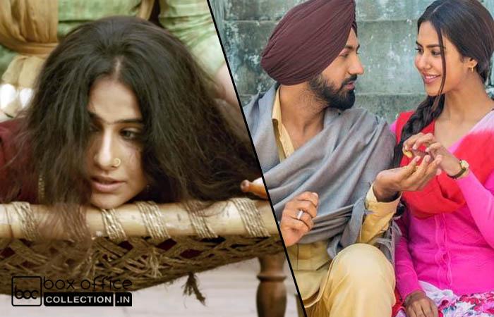 3 Days Total Collection of Begum Jaan & Manje Bistre