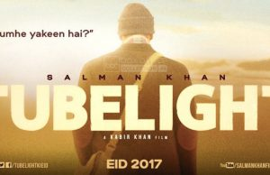 Official Poster of Salman Khan's Tubelight