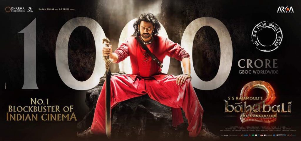 Baahubali 2 10 Days Total Collection