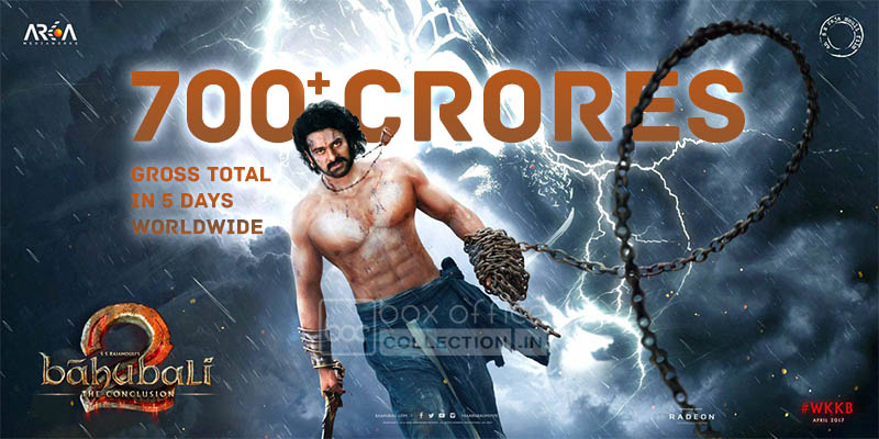 baahubali 2 5 days total collection, baahubali 2 total collection, baahubali 2 worldwide collection, baahubali 2 total india collection, baahubali 2 total overseas collection, baahubali 2 box office collection, baahubali 2