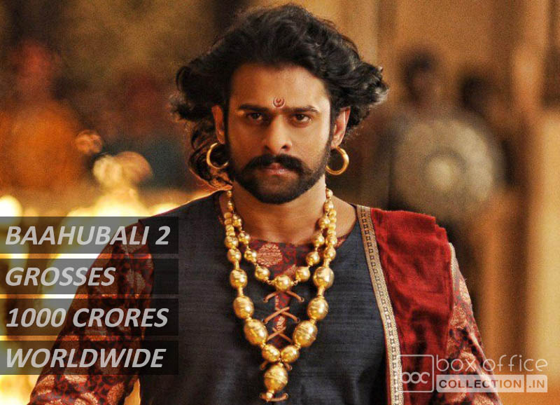 Baahubali 2 9 Days Total Collection