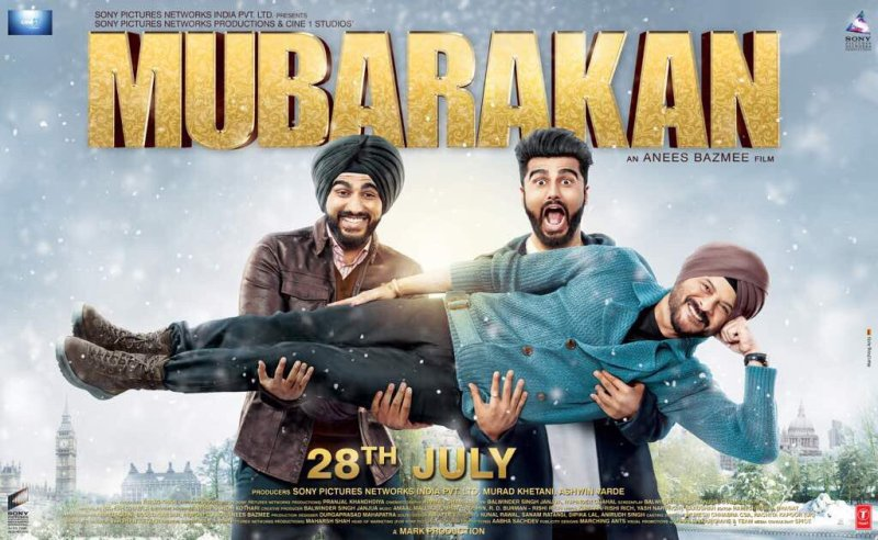 First Look Poster of Mubarakan
