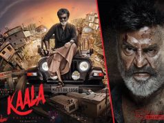 First Look Poster of Kaala, starring Rajinikanth