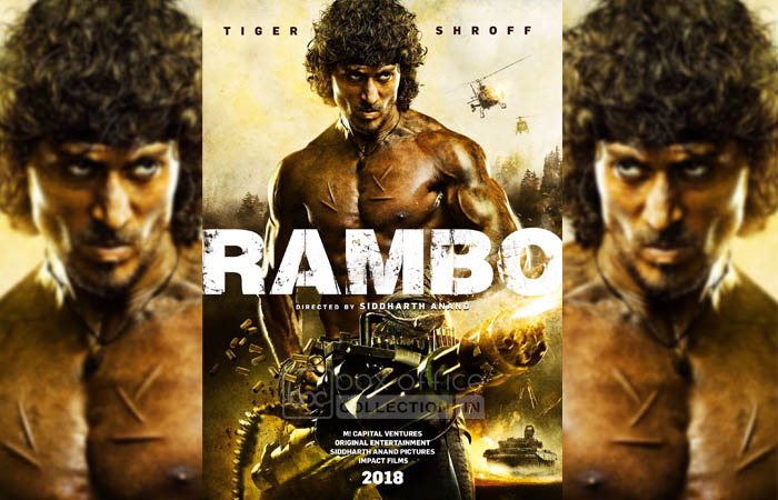 Tiger Shroff's Rambo First Look