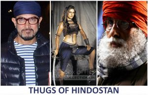 Thugs Of Hindostan starring Aamir Khan, Amitabh Bachchan and Fatima Sana Shaikh