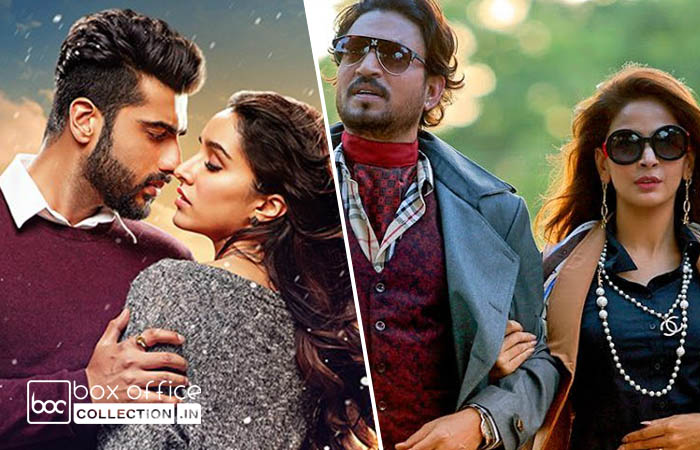 Half Girlfriend & Hindi Medium 3 Days Total Collection