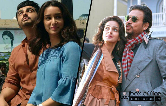 4 days total collection of half girlfriend and hindi medium