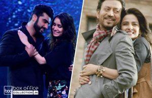 1 week total collection of half girlfriend and hindi medium