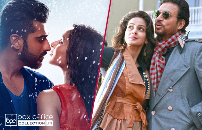 half girlfriend and hindi medium 8 days total collection