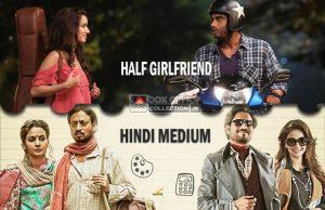 Half Girlfriend and Hindi Medium Box Office Prediction