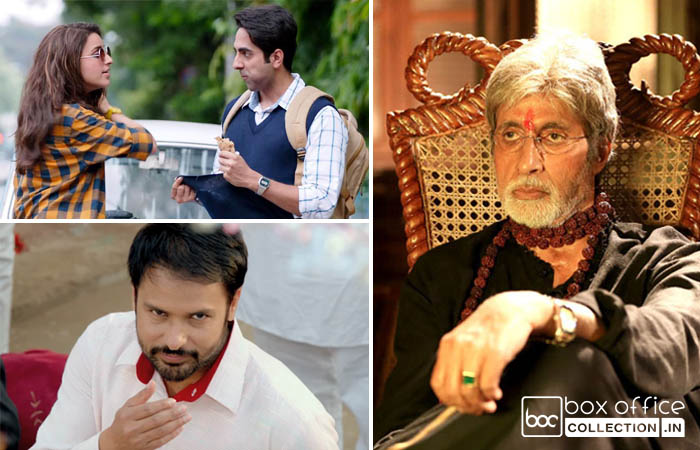 one week total collection of meri pyaari bindu, sarkar 3 and lahoriye