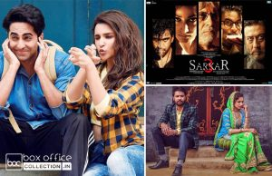 6 days total collection of meri pyaari bindu, sarkar 3 and lahoriye