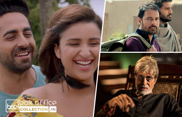 3 Days Total Collection of Meri Pyaari Bindu, Sarkar 3 and Lahoriye