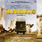 Ajay Devgn Shares the Teaser Poster of Baadshaho, 1st Sept. 2017 Release
