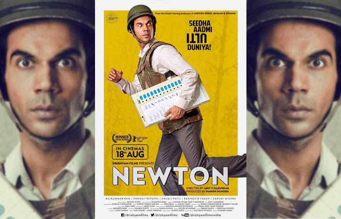 Rajkummar Rao's Newton New Poster