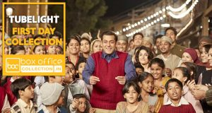 1st Day Collection of Tubelight