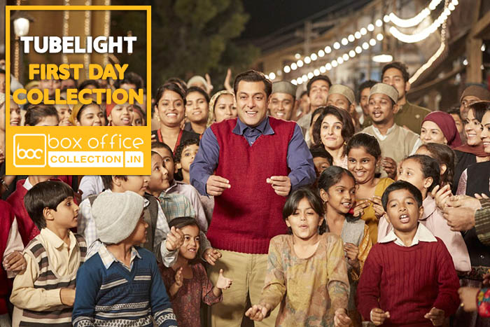1st day collection of tubelight salman khan starrer takes - Highest box office collection bollywood ...
