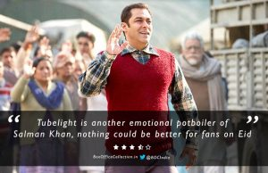 Review of Salman Khan's Tubelight