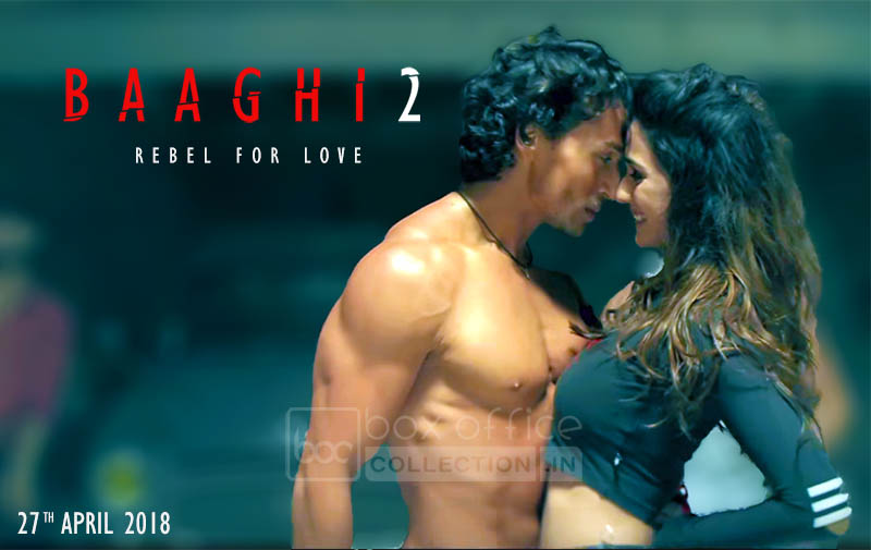 Disha Patani in Baaghi 2 opposite to Tiger Shroff