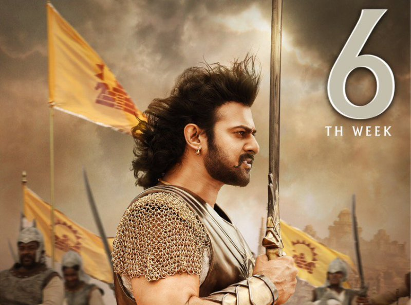 Baahubali 2 6 Weeks Total Box Office Collection