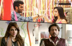 2 weeks total collection of half girlfriend and hindi medium