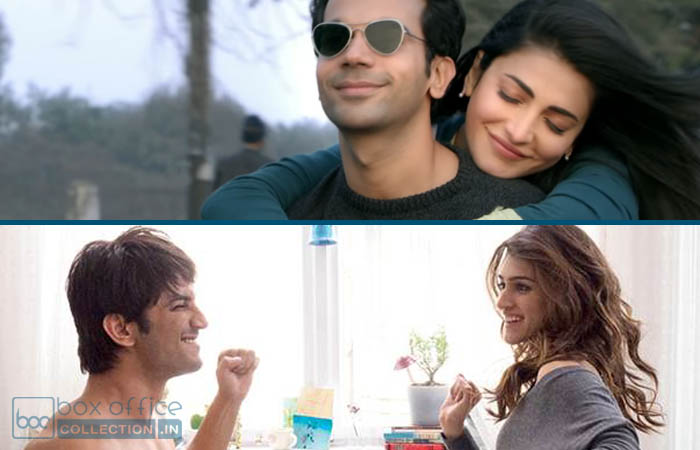 opening weekend total collection Raabta and Behen Hogi Teri