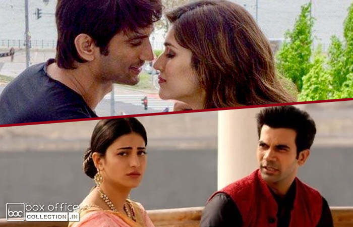 One week total collection of Raabta and Behen Hogi Teri