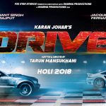 Drive Teaser Poster Looks Thrilling, Sushant-Jacqueline starrer to Release on March 2 next year