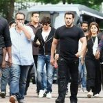 Salman Khan spotted on the sets of Shahrukh Khan-Aanand L Rai's next Dwarf film