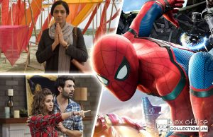 First day collection of Mom, Guest Iin London and Spider Man Homecoming
