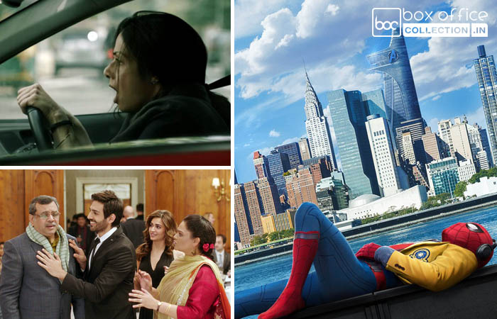 opening weekend total collection of mom, guest iin london and spiderman homecoming