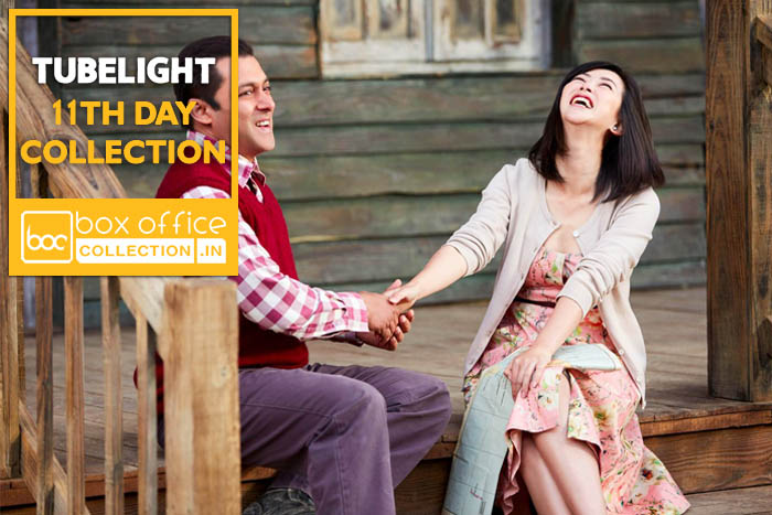 Tubelight 11 Days Total Box Office Collection